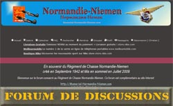 Forum de Discussion consacré au Normandie Niemen